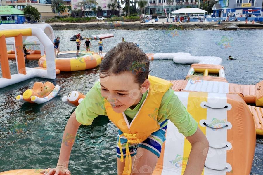 Floating Obstacle Island Aqua Park-OH1-301